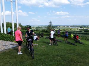 Spoločná bicyklovačka OIK Mochovce a OIK Bohunice