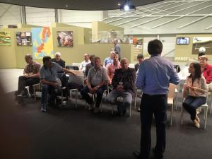 infocentrum výskumných laboratórií HADES v Belgicku